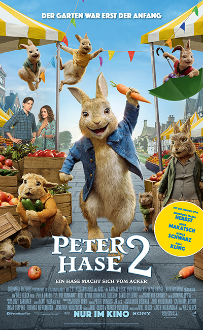 Peter Hase 2: Ein Hase macht sich vom Acker (2020)