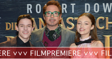 Dr. Dolittle: Robert Downey Jr. rockt Berlin