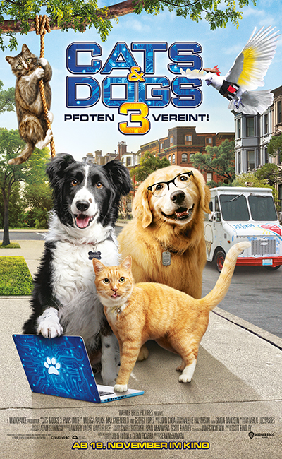 Cats & Dogs 3: Pfoten vereint