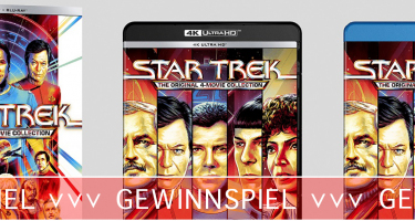 Star Trek: The Original 4-Movie - Collection - Gewinnspiel